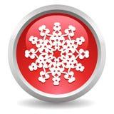 De knoop van de sneeuwvlok Stock Fotografie