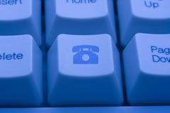 De knoop van de telefoon Royalty-vrije Stock Fotografie