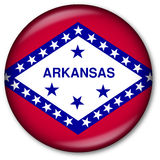 De Knoop van de Vlag van de Staat van Arkansas Royalty-vrije Stock Fotografie