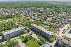 De knoop van de Voynovkaspoorweg het 3d teruggeven op blauwe hemelachtergrond Tyumen Stock Afbeeldingen