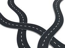 De knoop van de weg vector illustratie