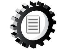 De knoop van het document Royalty-vrije Stock Fotografie