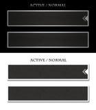 De knoop van het menu Stock Afbeeldingen