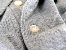 De knoop van het overhemd Stock Foto