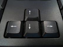 De knoop van de toetsenbordpijl Stock Afbeeldingen