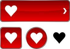 De knoopreeks van de liefde. Stock Fotografie