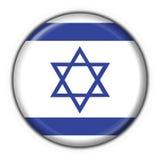De knoopvlag van Israël om vorm stock illustratie