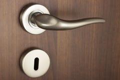 De knop van de deur stock afbeelding