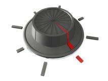 De knop van de draai vector illustratie