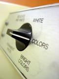 De knop van de wasmachine Royalty-vrije Stock Foto's
