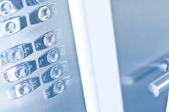 De knopen van de lift Stock Afbeelding