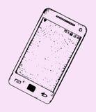 De Knopen van de Telefoon van de cel Phone Royalty-vrije Stock Afbeeldingen