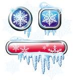 De knopen van de winter royalty-vrije illustratie