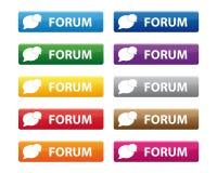De knopen van het forum Stock Fotografie