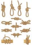 De knopen van het roeien Royalty-vrije Stock Afbeeldingen