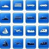 De knopen van het vervoer Royalty-vrije Stock Afbeelding