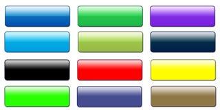 De Knopen van het Web Stock Afbeelding