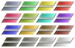 De Knopen van het Web Stock Fotografie