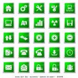 De Knopen van het Web Royalty-vrije Stock Afbeeldingen