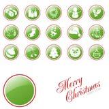 De knopen van Kerstmis. Stock Foto