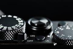 De knoppen van de fotocamera Royalty-vrije Stock Afbeelding