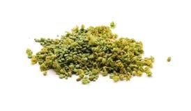 De knoppen van de marihuana/van de hennep Stock Foto's