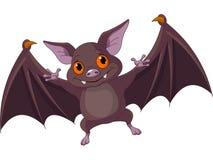 De knuppel van Halloween het vliegen Stock Afbeelding