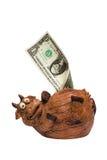 De koe van de besparing Royalty-vrije Stock Afbeeldingen