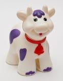 De koe van het stuk speelgoed Stock Foto