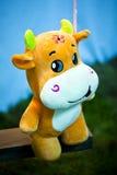 De koe van het stuk speelgoed stock afbeeldingen