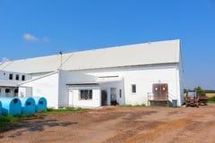 De koeiestalbouw Stock Fotografie