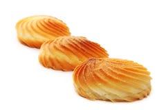 De koekjes is geïsoleerdh Stock Foto's
