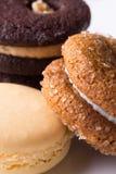 De koekjes sluiten omhoog Stock Foto's