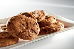 De Koekjes van Chocoladeschilfers Royalty-vrije Stock Afbeeldingen