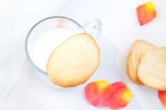 De koekjes van de amandel Stock Foto's