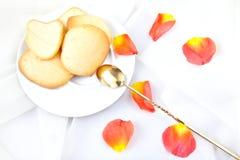 De koekjes van de amandel Royalty-vrije Stock Foto's