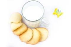 De koekjes van de amandel Stock Foto