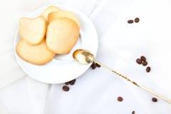De koekjes van de amandel Stock Fotografie