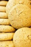 De koekjes van de amandel stock afbeeldingen