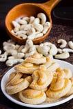 De koekjes van de Ashewnoot Stock Foto's