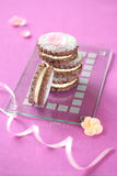 De koekjes van de bosbessensandwich Royalty-vrije Stock Fotografie