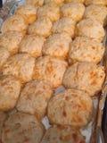 De koekjes van de cheddarkarnemelk Stock Fotografie