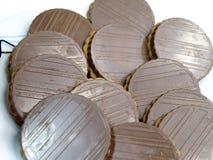 De koekjes van de chocolade Stock Foto's