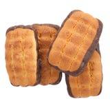 De Koekjes van de Chocoladeschilfer. Stock Foto
