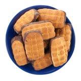De Koekjes van de Chocoladeschilfer. Royalty-vrije Stock Afbeelding