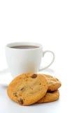 De Koekjes van de Chocoladeschilfer Royalty-vrije Stock Fotografie