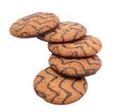 De Koekjes van de Chocoladeschilfer Royalty-vrije Stock Foto