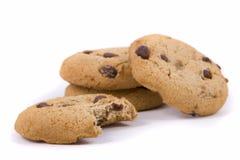De Koekjes van de Chocoladeschilfer Royalty-vrije Stock Afbeelding