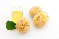 De koekjes van de citroen stock fotografie