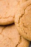 De koekjes van de gember Royalty-vrije Stock Afbeelding